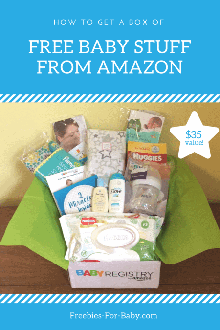 Free Amazon Baby Welcome Box worth $35! Full-size baby products, samples, coupons, more!