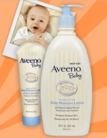 Pregnancy Freebies - Free Aveeno Baby Lotion