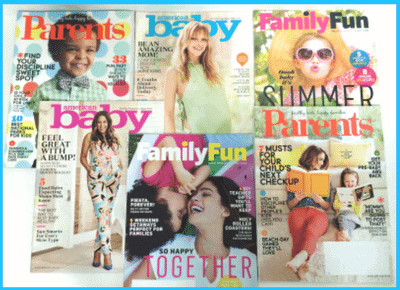 Free Baby Magazines that came in my mailbox