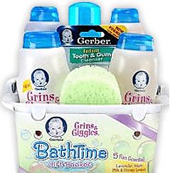 Free Gerber Baby BathTime Gift Set