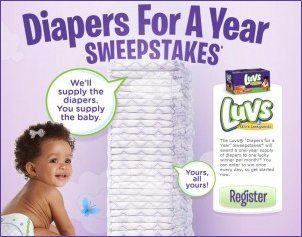 Luvs diaper coupons by mail