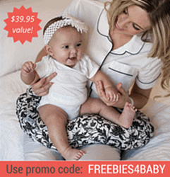 Free Nursing Pillow - $39.95 value!
