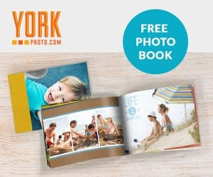 Get a Free Photo Book + 101 Free Photo Prints from York Photo