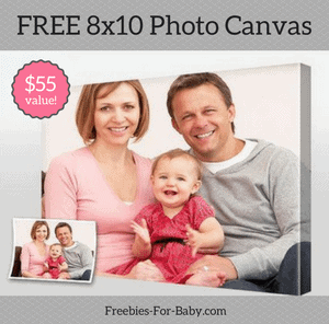 Free 8x10 Photo Canvas at Freebies-For-Baby.com