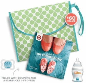 Free Target Baby Gift Bag - $70 value!