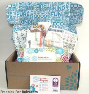 Free Diaper Samples + Wipes Samples from The Honest Co