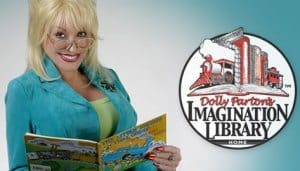 Free Books from Dolly Parton's Imagination Library