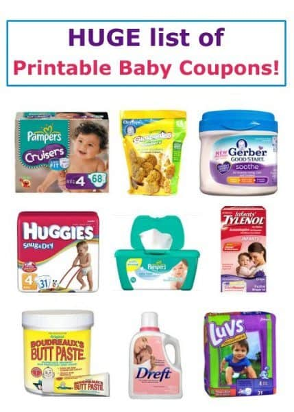 71 Printable Baby Coupons - November 2016