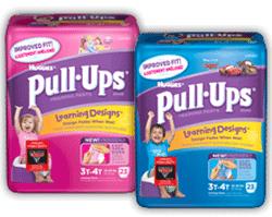 Free Samples of Pull-Ups training pants