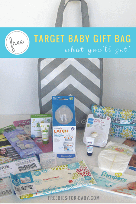Free Target Baby Registry Gift Bag - what comes inside!