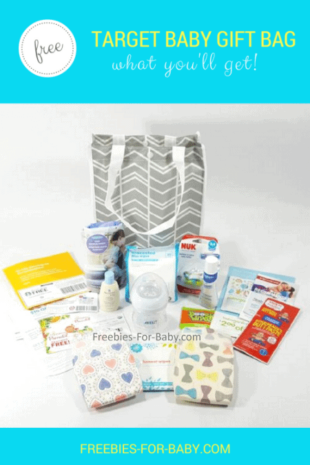 Target Baby Registry Gift Bag - $50 worth of free baby stuff!
