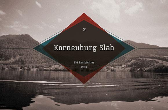 Korneuburg Slab Free Font Download