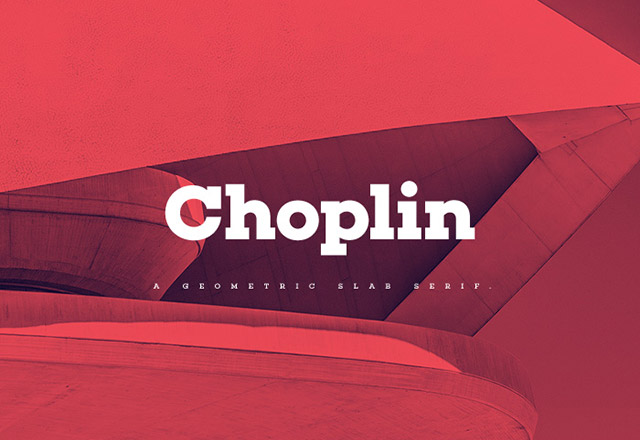 Choplin Free Font Download