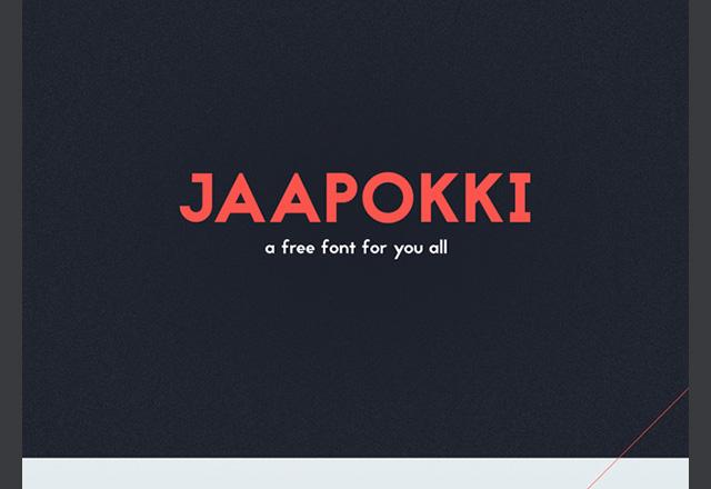 Jaapokki Font Download