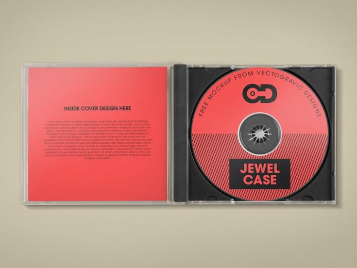 Free CD Album Cover Mockup PSD - Free Download   Freebiesjedi