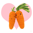 Cool Carrot with Sweet Carrot, cute knitting patterns