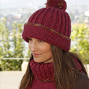 0-883 Hat and neck warmer