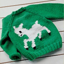 Child's Lamb Cardigan