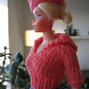 Barbie Pullover with Sailor Collar