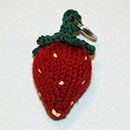 Strawberry Keychain / Keyring