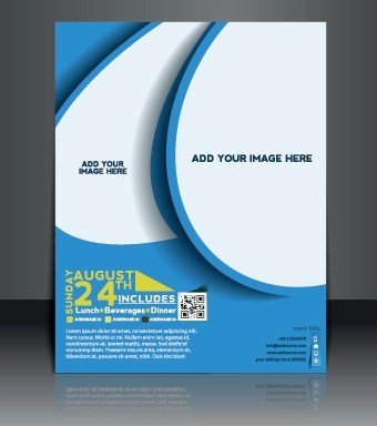 Business flyer and brochure cover design vector 11 free download Business flyer and brochure cover design vector 11