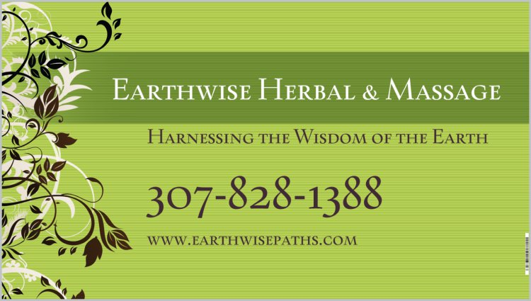 Earthwise Herbal Banner