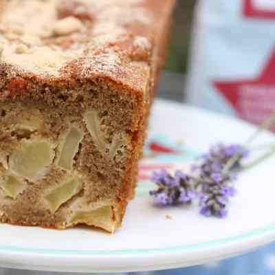 Gluten-Free Apple Loaf Cake & A Flour Update