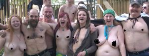Topless Tuesday, Keene's Central Square, 2010