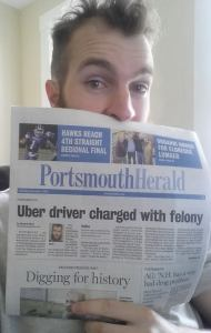 FSP Early Mover Christopher David Makes the Headline Story in Portsmouth Paper