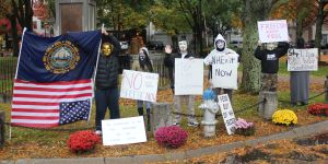 NH Exit Demonstration 2016-10-22