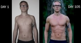 freeletics body transformation