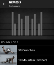Nemesis Freeletics Workout - Endurance