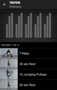 Triton - Freeletics Training End