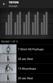 Triton - Freeletics Training Strg