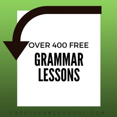 Over 400 Free Grammar Lessons