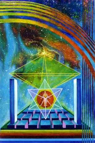 Star Tetrahedron Man