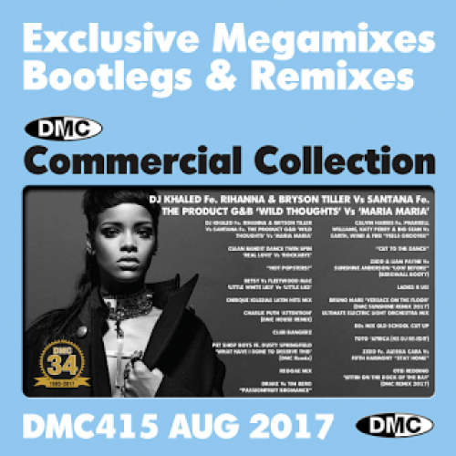 DMC Commercial Collection 415August 20172CDs Exclusive Megamixes Bootlegs Remixes For Professional DJs