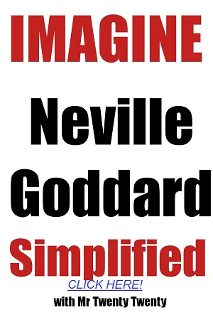 Imagine Neville Goddard Simplified