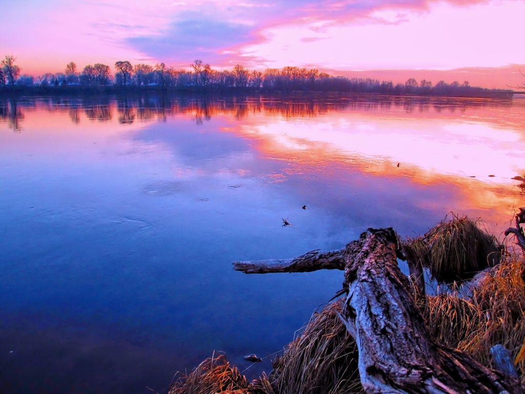 landscape photography - river, dimension: 1024x768