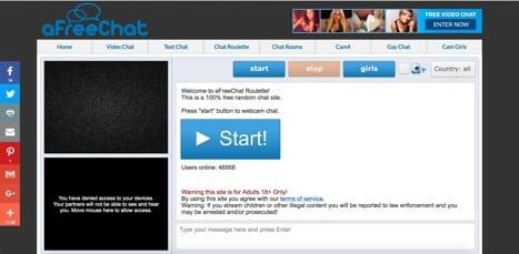 afreechat free webcam chat