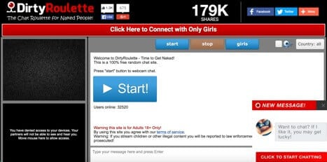 Dirtyroulette girls