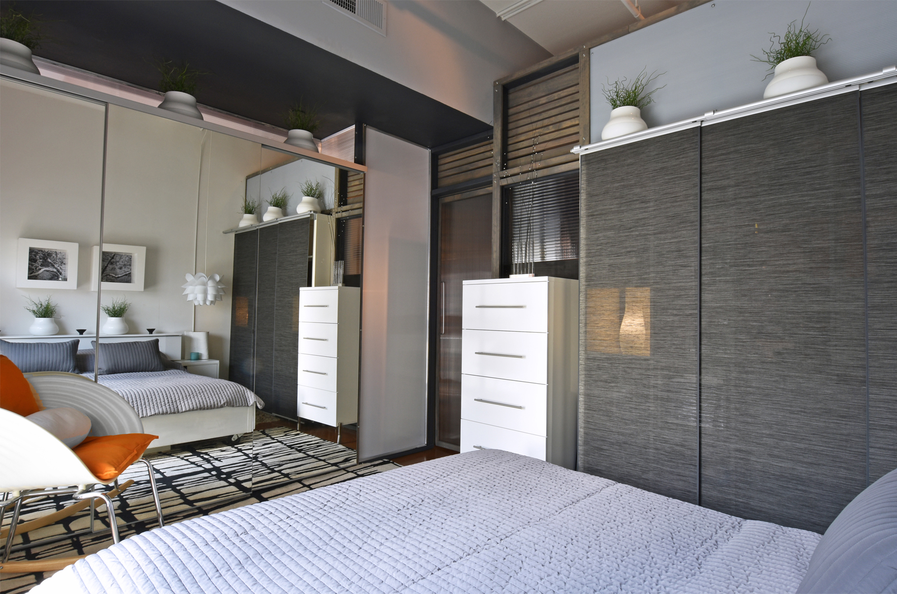 Riveting Small Space Living Uptown Studio Charlotte Small Space Living Uptown Studio Charlotte Nc Small Space Apartment Decorating Small Space Apartment Storage apartment Small Space Apartment