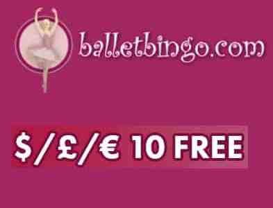 Ballet Bingo Casino free spins