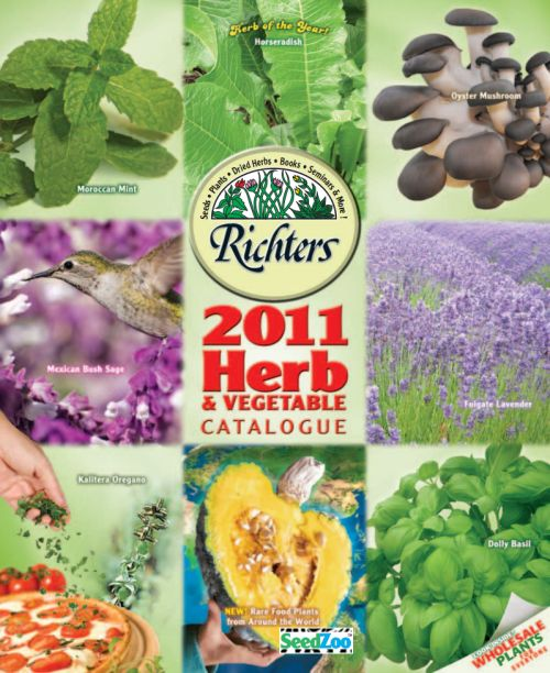 Richters Herb Free Catalogue - International