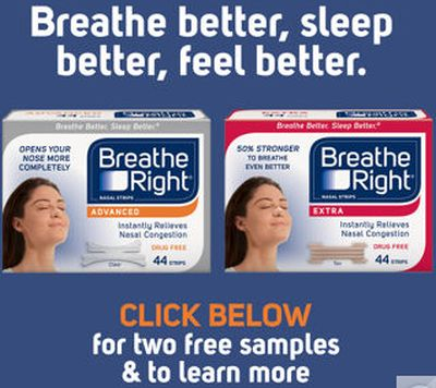 Costco.com Free Breathe Right Nasal Strips for Costco Members - US