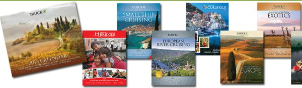 Tauck Free 2013 Calendar and Free Travel Brochures - Worldwide