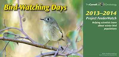 AllAboutBirds.org Free 2013-14 Bird-Watching Days Calendar - US