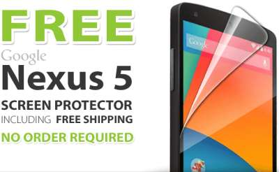 ViewGuard Free Google Nexus 5 Screen Protector - US