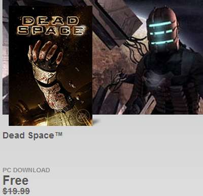 Origin Free Dead Space Game PC Download