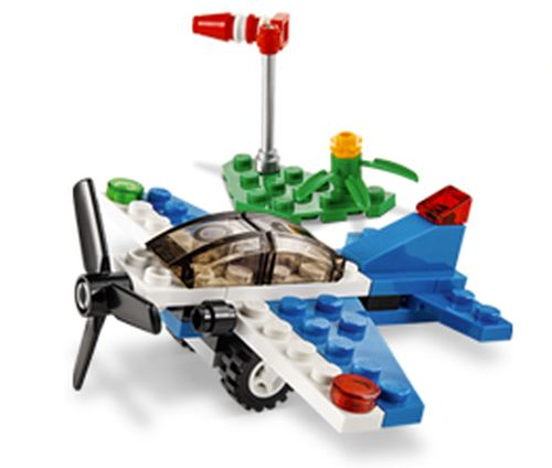 LEGO Store Monthly Mini Model Build Free LEGO Racing Plane - September 2 at 5 p.m. - Ages 6 - 14